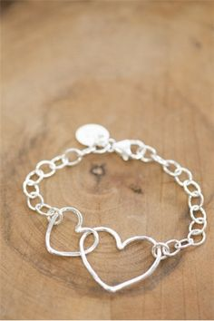 READY TO SHIP Silver Connected Bracelet by shopSHINElife on Etsy