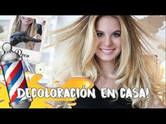 DECOLORACIÓN EN CASA!! intento de HAIR CONTOURING! Funcionará? | Vikguirao - YouTube