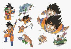 Dbz Manga, Manga Dragon, Goku, Akira, Dragon Ball Z, History Of Manga, Character Art, Character Design, Ball Drawing