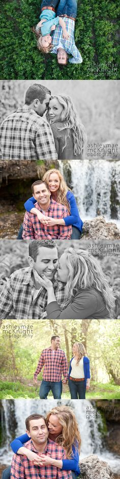 Gorgeous engagements. Summer photography. Lots of couples poses.