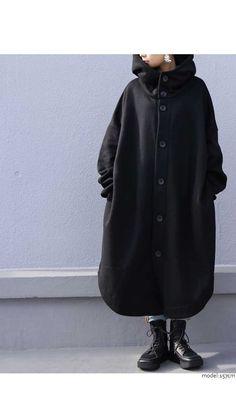 Abaya Fashion, Modest Fashion, Fashion Outfits, Womens Fashion, Dark Fashion, Winter Fashion, Hijab Style, Street Outfit, Harajuku Fashion