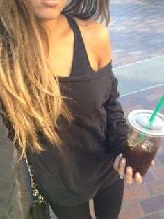 Gym Style -not sure the starbucks helps. Gym Style, Style Me, Look Fashion, Fashion Beauty, Gym Fashion, Fashion 2014, Fall Outfits, Cute Outfits, Travel Outfits