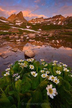 Ice Lake - Upper Ice Lake Basin San Juan Mountains, Colorado