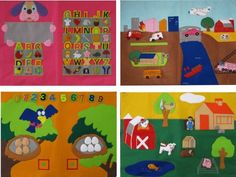 $44.99-$65.00 Baby Decorate your child's room with educational and colorful wall decorations. Each soft cloth wall hanging is safe and interactive. Create a hands-on experience for your child, why not make your child's room their first classroom?
