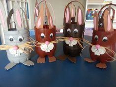Tuxedo Easter Basket for boys, - Tuxedo Easter B . Easter Art, Easter Crafts For Kids, Easter Bunny, Basket Crafts, Plastic Bottle Crafts, Easter Baskets, Art For Kids, Images, Bottle Crafts