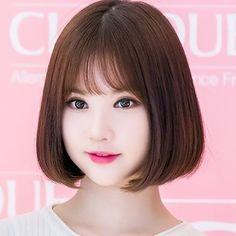 Handmade cork slide with whimsical knotted suede bow. Asian Hair, G Friend, Pretty Dolls, Kawaii Girl, Beautiful Asian Girls, Ulzzang Girl, Cute Hairstyles, Kpop Girls, Asian Beauty