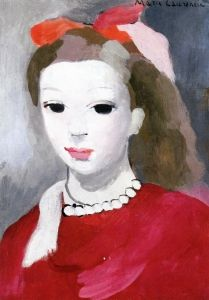 Girl with a Pearl Necklace - Marie Laurencin - The Athenaeum