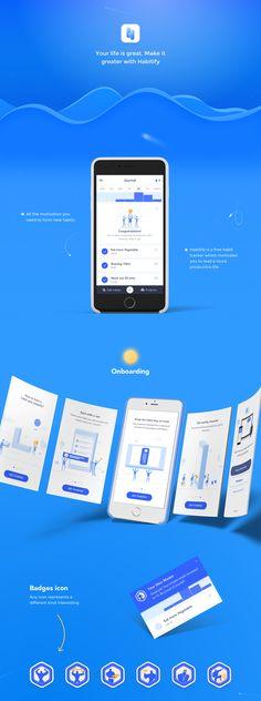 Habitify - Habit Tracker App on Behance