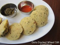 Today's recipe is Oats Dalia Idli or Oats Broken Wheat Idli or Oats Cracked Wheat Idli. Idli is the most popular and staple breakfast in majority of the So