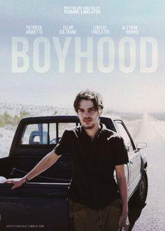 Boyhood (2014)  Director: Richard Linklater  Ethan Hawke, Patricia Arquette, Ellar Coltrane, Lorelei Linklater