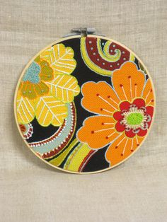 Hoop Art Embroidery , Hand Embroidery , Wall Decor , Mothers Day , Wedding , Embroidered Flowers , Flowers , Floral , Handmade , Bouquet