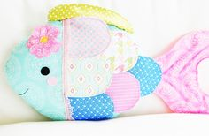 Fish Sewing Pattern - Fish Pillow Toy Sewing Pattern - PDF Pattern. $10.00, via Etsy.