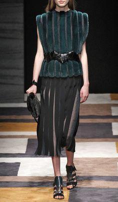 Salvatore Ferragamo Fall/Winter 2015 Trunkshow Look 17 on Moda Operandi