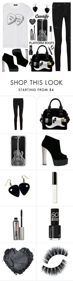 """CASETIFY - I PICK YOU"" by deborah-calton ❤ liked on Polyvore featuring Yves Saint Laurent, Giuseppe Zanotti, Casetify, Bobbi Brown Cosmetics, Benefit and L'Oréal Paris"