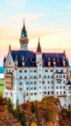 Neuschwanstein Castle, Germany /Castelo de Neuschwanstein, Alemanha