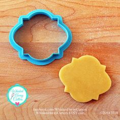 This listing is for The Miss McGoo 2. Whisked Away Cutters currently come in two colors, Aqua and Blue, depending upon available stock. Please
