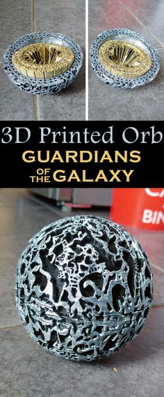 Make your own orb from Marvel's Guardians of the Galaxy.