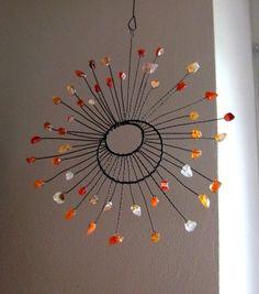 sluníčko drátované - karneol