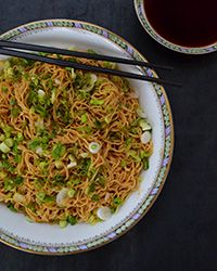 Sweet, Aromatic Soy Sauce with Fresh Egg Noodles #recipe