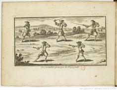 Le maistre d'armes, ou l'Exercice de l'épée seule, dans sa perfection.  Par le sieur de Liancour, 1686