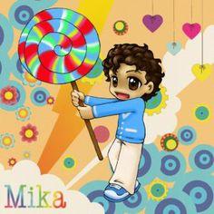 cute cute lollipop Mika fan art