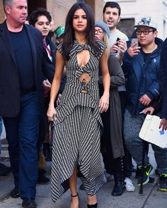 Selena Gomez Embraces 24 Hours of Spring Before the Blizzard | via wmag  On the first day ofNew York Fashion Week'sFall 2017 shows a blizzard swept through New York City complete with sub-zero temperatures and gusts of icy wind. The city drew to a halt; schools closed fashion shows featured more front row-ers dressed in parkas than the season's latest It trend. The transition to bona fide winter was particularly jarring considering what had come just the day before: an unseasonably humid…