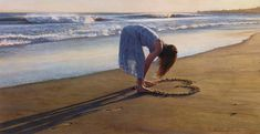 "Steve Hanks - Mike got this one for me - signed and still unframed in protective paper - it is called ""Daughter of a great romance"" - and quite lovely"