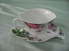 French Coffee Cups and Saucers | B2 leaf shape porcelain coffee cup and saucer China (Mainland) Mugs