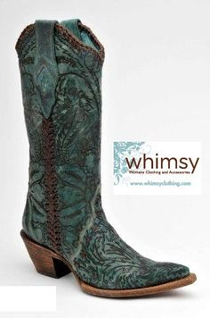 Turquoise Cowgirl Boots