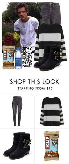 """Day W/ Harry"" by briquel1328 ❤ liked on Polyvore featuring moda, H&M, BEA e Rupert Sanderson"