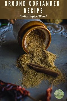 Make this must-have pantry item - coriander-cumin powder at home. Ground cumin/jeera powder Healthy Baking, Healthy Food, Healthy Recipes, High Power Blender, Deep Fried Recipes, Asian Grocery Store, Post Workout Snacks, Pre And Post, Sugar Free Recipes