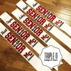 Senior night sashes block lettering add on bow Volleyball Senior Gifts, Volleyball Locker Decorations, Senior Cheerleader, Senior Night Gifts, Senior Day, Cheerleading Gifts, Volleyball Posters, Cheer Team Gifts, Crafts For Seniors