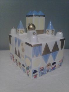 Disney Collectible It's A Small World Cookie Jar