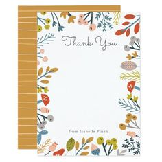 Shop Fall Botanical Note Card created by origamiprints. Paper Owls, Egg Shells, Custom Cards, Paper Texture, Smudging, Note Cards, Elephant, Bunny, Teddy Bear
