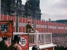 Colorised Photographs from Pre-War Germany
