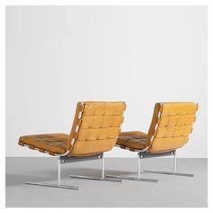 styletaboo:  Jorge Zalszupin - Easy Chair [chromed steel, leather, 1973]