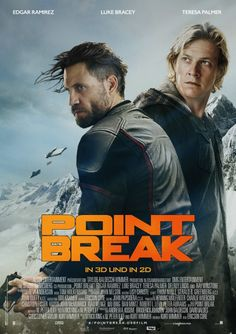 The new Point Break. As a lover of the original, should I have watched this? No. The new Utah is an almost solid slab of American jock blandness, his performance defined solely by his array of tattoos. Upgraded Bohdi is OK actually, although his motivations are pretty thin. A couple of the extreme sequences are pretty great. Unusually, Ray Winstone is terrible in this. In general, even if it wasn't a remake of much loved (albeit ludicrous) action movie, it doesn't quite add up.