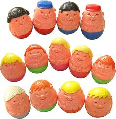 Always played with these in the bath... think the blonde woman looked just like my mum! Still does!