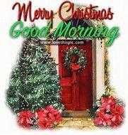 Image result for Good Morning Christmas Graphics