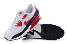 Nike Air Max 90 Men's White/Black-Varsity Red