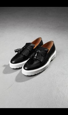 4PG Tasseled Creeper Loafers aef14ccfd