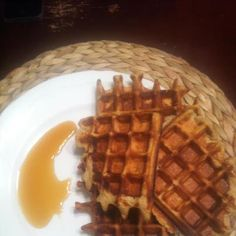 Herbalife Waffles  1 1/2 cup skim milk  3 eggs  3/4 cup wheat flour  1 1/2 tsp baking powder  1/2 teaspoon baking soda  1/2 teaspoon salt  1/4 cup olive oil  (for less fat vs 2 bananas)  1 tablespoon cinnamon  1/2 cup Vanilla Formula #1    In a blender, mix milk, eggs, oil, bananas, powder, soda, salt and shake.    Pour in to bowl and add flour and cinnamon. Add as much flour as needed to    get a thick batter. Makes 6 to 7 waffles.     Calories 188