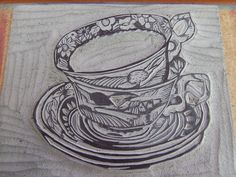 new lino carved and ready to beprinted for more about me and my work go to  www.rubyvictoria.blogspot