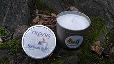 November Rain Tinders Soy Candle