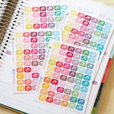 60 Credit Cards (Mini Icons)  // Sticker Planner by FasyShop on Etsy