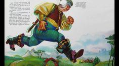 Klein Duimpje - Sprookje van Charles Perrault met plaatjes, via YouTube.