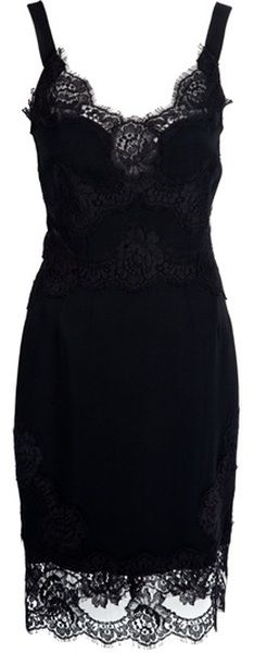 DOLCE & GABBANA Lace Dress     dressmesweetiedarling
