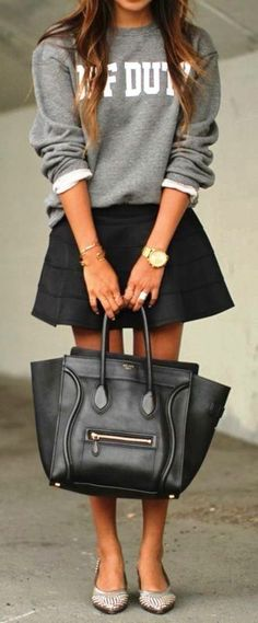 outfit formal sudadera