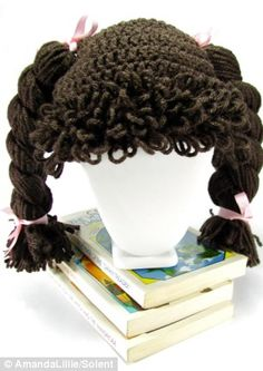 free pattern cabbage patch hat wig   ... of the Cabbage Patch Kids' hair and now makes the wigs in all colours