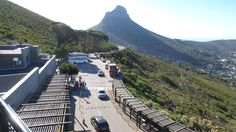 At Table Mountain National Park.